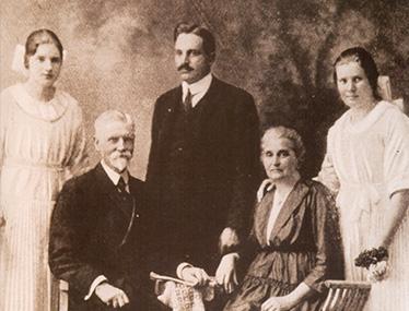 Frank Henry Westphal y su familia