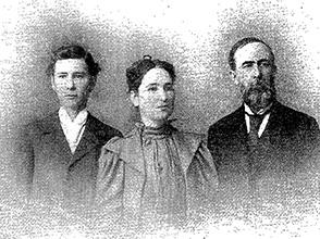 G. H. Baber y familia, 1899
